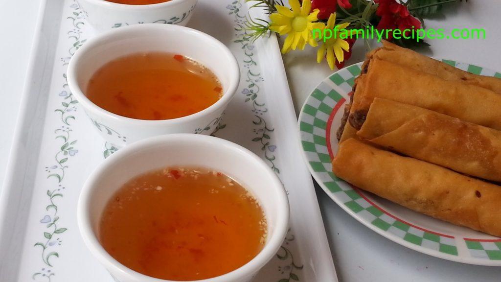 Vietnamese dipping sauce n c m m pha npfamily recipes for Vietnamese fish sauce