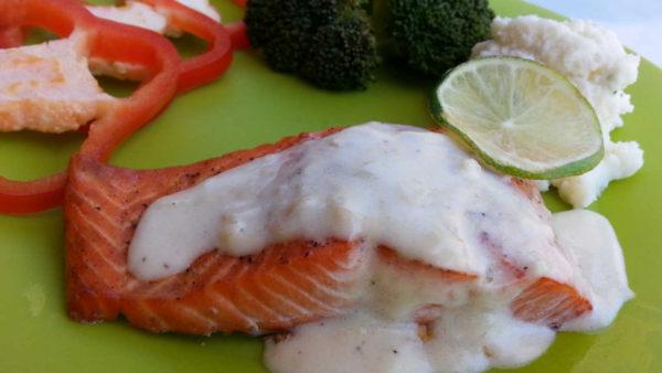 Baked Salmon with Lemon-Butter Sauce (Cá Hồi Sốt Bơ Chanh)