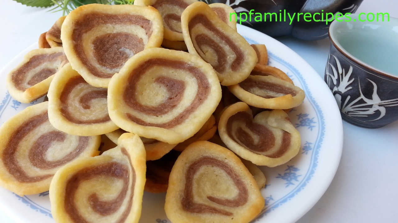 Pig Ear Cookie Recipe (Bánh Tai Heo) - NPFamily Recipes