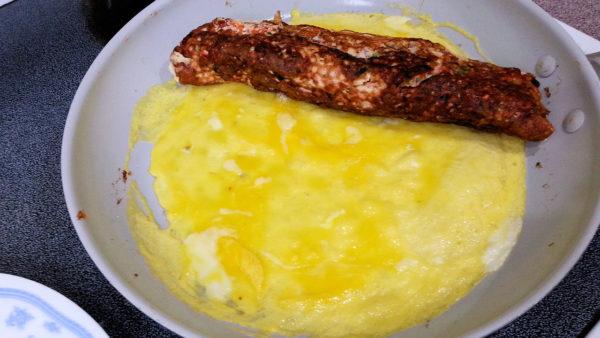 Jumbo Frank Breakfast Omelet