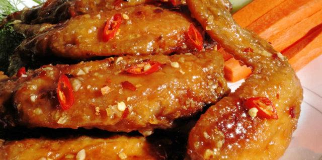 Fish Sauce Chicken Wing Recipe