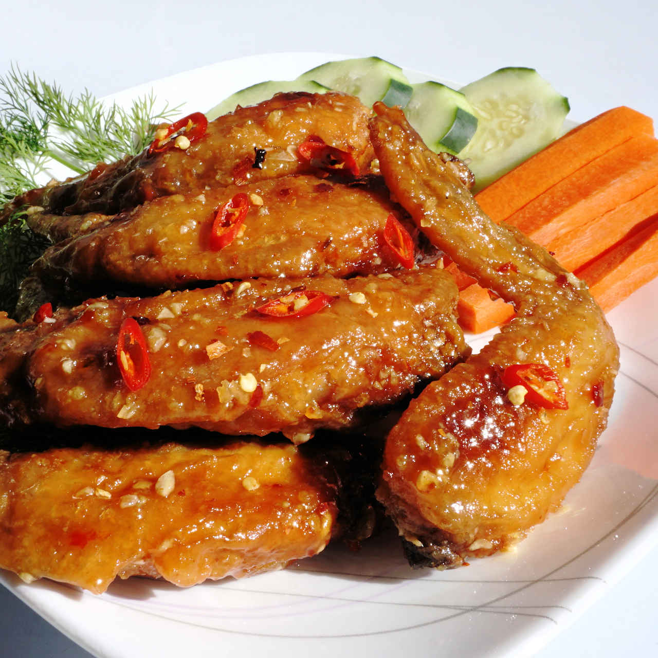 Fish Sauce Chicken Wing Recipe