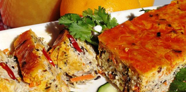 Vegetarian Vietnamese Steamed Meatloaf (Chả Trứng Chay)