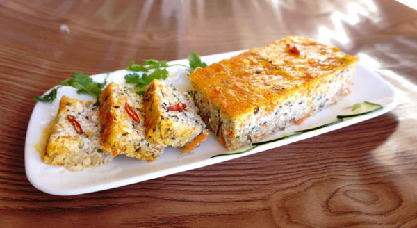 Vegetarian Steamed Meatloaf (Chả Trứng Chay)
