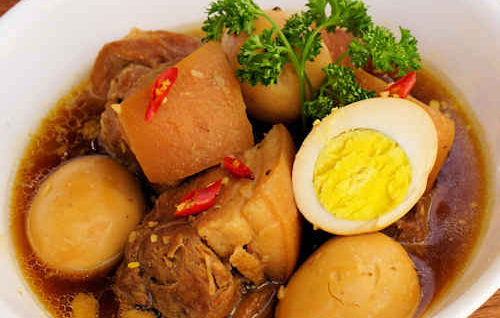 Braised Pork with Eggs (Thịt Kho Nước Dừa)