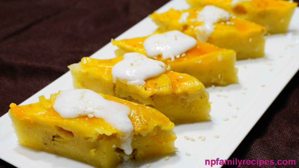 Steamed Banana Cake Recipe (Bánh Chuối Hấp)