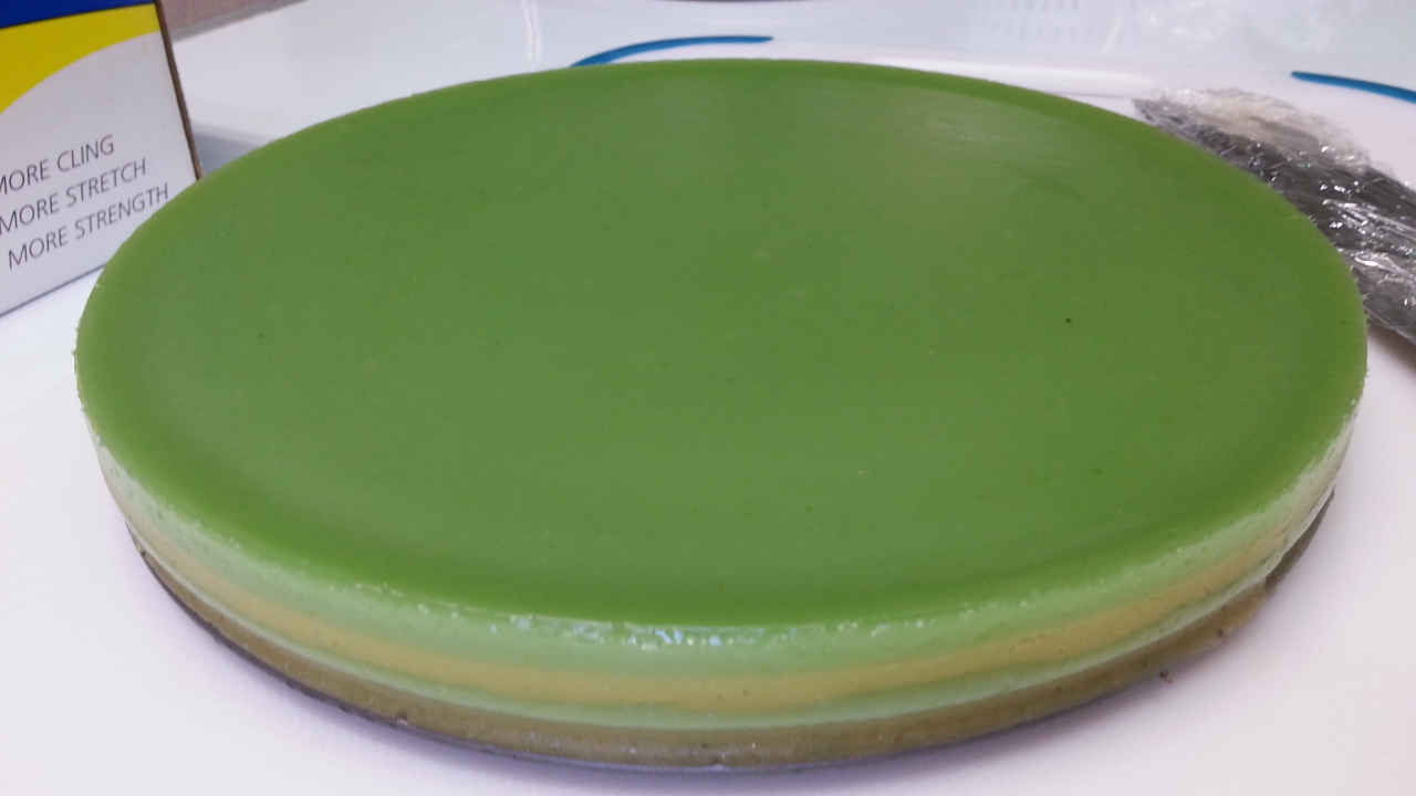 Steamed Pandan Layer Cake Recipe