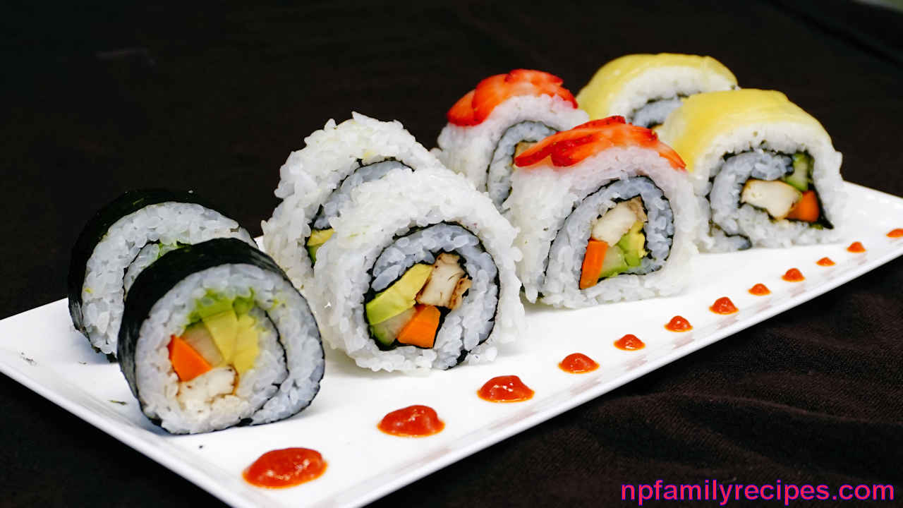 sushi hvordan