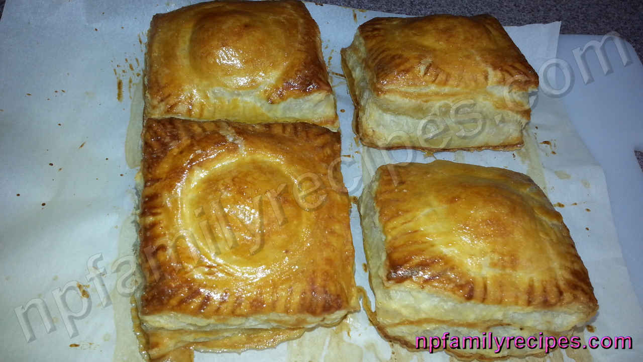 how to make puff pastry for pie