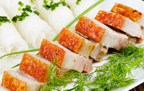 Crispy Roast Pork Belly (Thịt Heo Quay)