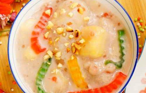 Vietnamese Banana Tapioca Pudding