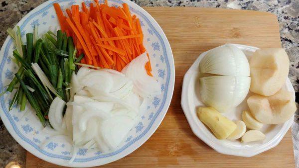 Vegan Napa Cabbage Kimchi